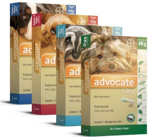 Antipulgas Bayer Advocate Para Cães - Combo Leve 3 Pague 2