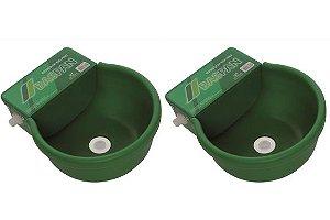 Bebedouro Automático Com Boia Para Bovinos 8 litros - Kit 2 Unidades