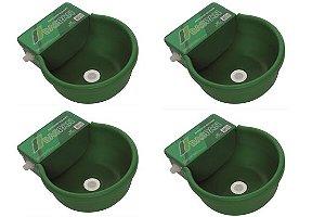 Bebedouro Automático Com Boia Para Bovinos 8 litros - Kit 4 Unidades