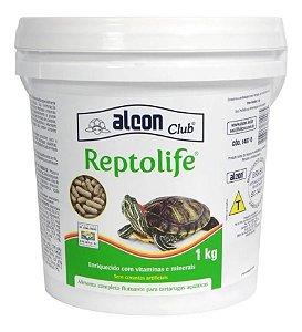 Ração Alcon Reptolife Para Tartaruga Balde 1 Kg