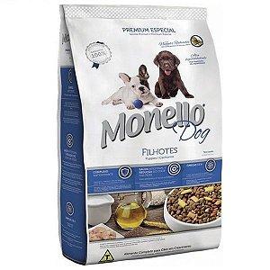Ração Monello Dog Filhotes Com Nuggets  Recheados 7kg