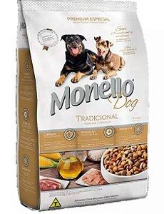 Ração Monello Dog Tradicional 7kg