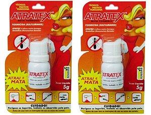 Isca Mata Formiga Doceiras Atratex 5 gr - Kit 2 Unidades