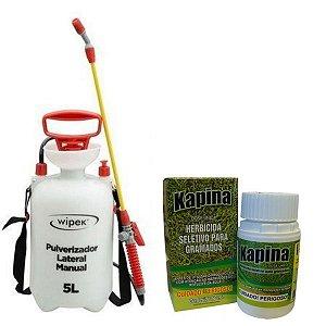 Combo Herbicida Kapina  60ml + Pulverizador Wipek 5 Lt