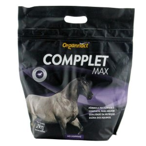 Suplemento Organnact Para Equinos Compplet Max Organnact 2 Kg