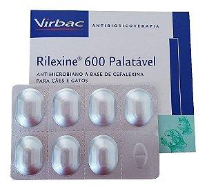Rilexine 600mg 14 Comprimidos - Cartelas Avulsas +bula