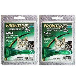 Frontline Plus gatos 2 Unidades