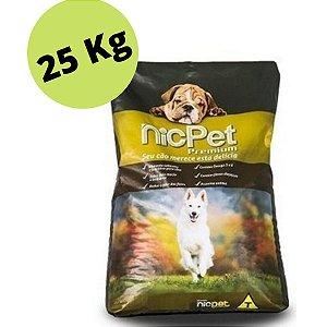 Ração Premium Nic Pet Adulto 25kg