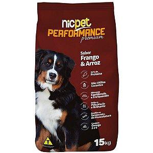 Ração Premium Nic Pet Performace Cães Adultos 15kg