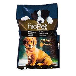 Ração Premium Nic Pet Cães Filhotes 25kg