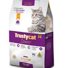 Ração Trusty Cat Salmão 11kg