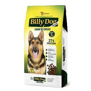 Ração Cães Adultos Billy Dog Carne e Cereais