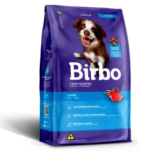 Ração Para Cães Birbo Premium Filhotes Sabor Carne