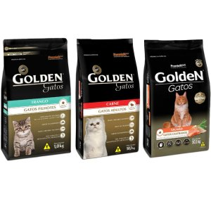 Ração Golden gatos