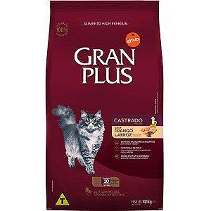 Ração Para Gatos Gran Plus - Saca de 10 Kg (10pc de 1kg)