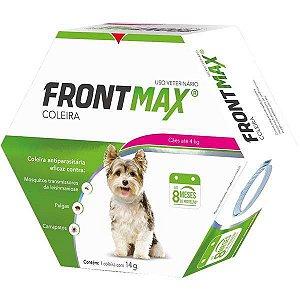 Coleira Antipulgas Carrapatos e leishmaniose Frontmax Cães