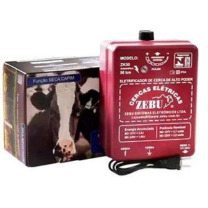 Cerca Eletrica Rural Zebu Zk50 Bivolt