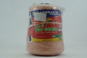 BARBANTE ALGODAO CONES 4/8 SALMON 465MT