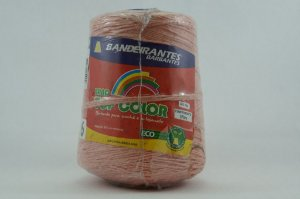 BARBANTE ALGODAO CONES 4/6 SALMON 570MT