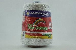 BARBANTE ALGODAO CONES 4/6 BRANCO 570MT