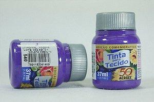TINTA TECIDO FOSCA 37ML N.540 VIOLETA COB.ACRILEX