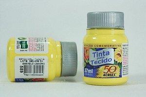 TINTA TECIDO FOSCA 37ML N.589 AMAR.CANARIO