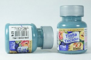 TINTA TECIDO FOSCA 37ML N.574 CINZA LUNAR