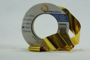 FITA METALOIDE 20MM 50MT OURO