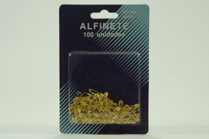 ALFINETE SEGURANCA OURO N.000 C/100UND