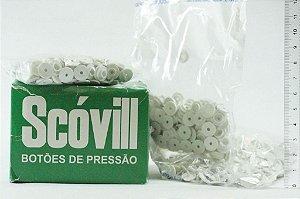 BOTAO PRESSAO SCOVILL 12 BCO 1000UND