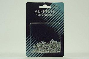 ALFINETE SEGURANCA PRATA N.000 C/100UND