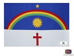 Tecido Bandeira de Pernambuco
