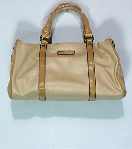 Bolsa Feminina Baú (de braço) BF 4890 David Jones em couro sintético (ecológico)