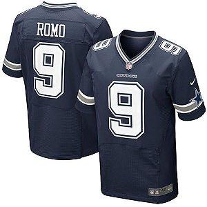 Jersey - 9 Tony Romo - Dallas Cowboys - MASCULINA