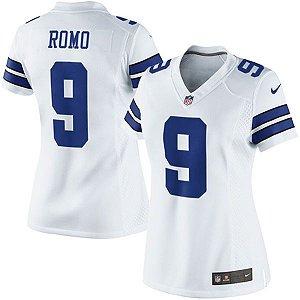 Jersey - 9 Tony Romo - Dallas Cowboys - FEMININA