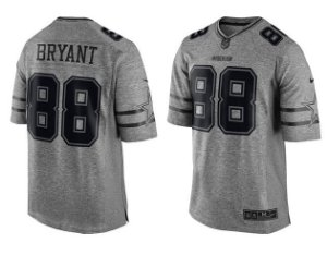 Jersey - 88 Dez Bryant - Gridiron Grey - Dallas Cowboys