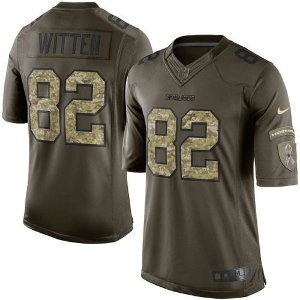Jersey - 82 Jason Witten - Salute to Service - Dallas Cowboys