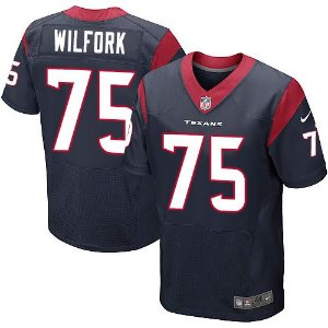 Jersey - 75 Vince Wilfork - Houston Texas - MASCULINA