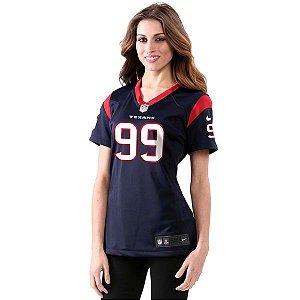 Jersey - 99 JJ Watt - Houston Texas - FEMININA