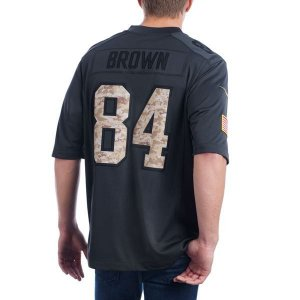 Jersey - 84 Antonio Brown - Salute to Service  - Pittsburgh Steelers - MASCULINA