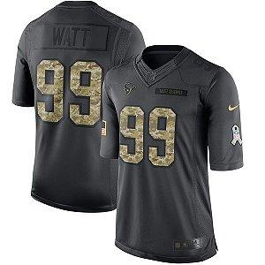 Jersey - 99  JJ Watt - Salute to Service  - Houston Texans