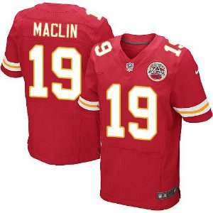 Jersey - 19 Jeremy Maclin - Kansas City Chiefs - MASCULINA