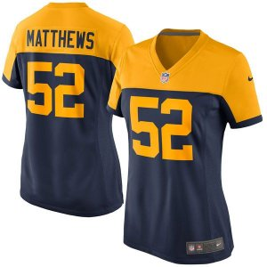 Jersey - 52 Clay Matthews - Green Bay Packers - FEMININA