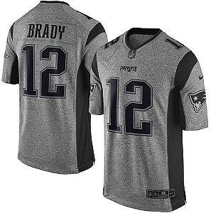 Jersey - Ton Brady - Gridiron Grey - New England Patriots