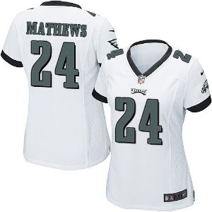 Jersey - 24 Ryan Mathews - Philadelphia Eagles  - FEMININA
