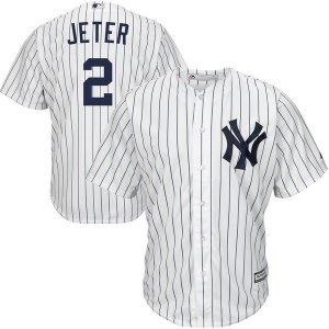 Jersey - 2 Derek Jeter - New York Yankees - MASCULINA
