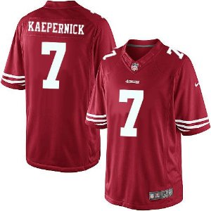 PRONTA ENTREGA -  Jersey - 7 Colin Kaepernick - San Francisco 49ers