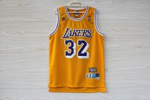 Jersey Hardwood Classics  - 32 Magic Johnson - los angeles lakers Adidas- MASCULINA