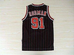 Jersey Hardwood Classics - 91 Dennis Rodman - Chicago Bulls