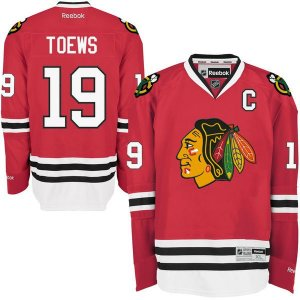 Jersey - 19 Jonathan Toews - Chicago black hawks